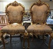 Ремонт.Реставрация стульев